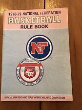 1978-1979 National Federation Basketball Rule Book