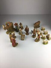 Alte Gips Krippe 20 Teilig Krippenfiguren Josef Maria Kameltreiber Kamel gemarkt
