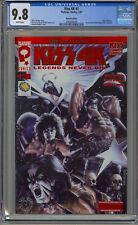 KISS 4K #1 9.8 RED FOIL EDITION WIZARD WORLD 2007 ONLY GRADED 9.8!!
