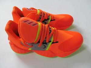 Adidas James Harden Vol 4 GCA FX2095  man  orange  shoes sz 12  Brand  New