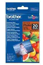 Original Brother  BP-71GP20  A6 Photo Glossy Foto-Papier 10x15 cm 20 Blatt