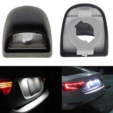 2pcs Rear License Plate Light Lens Housing for Silverado Sierra Pickup Escalade