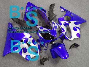 Blue Glossy INJECTION Fairing Fit HONDA CBR600F4i 2005 2006 2004-2007 16 A5