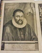 Lexicon Philologicum Martini 1701 2 Vol. Large Bookplate Duc de Maine