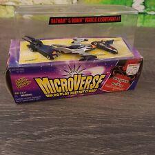 Vtg DC Batman Microverse Batman & Robin Kenner Toy Vehicles Batmobile Bathammer