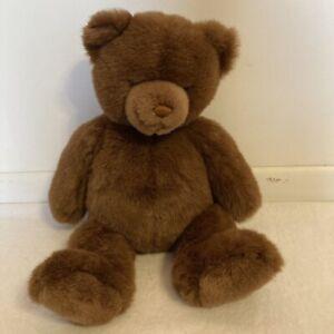 "Gund Lord And Taylor Teddy Bear Brown Plush Stuffed Animal toy 2002 20"""