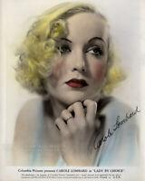 "Vintage 1934 Photo Actress CAROLE LOMBARD ""Lady by Choice"" Movie Publicity Still"