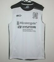 Hull FC rugby training sleeve less shirt Size L ISC