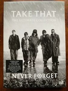 Take That Ultimate Collection DVD British Pop Music Never Forget