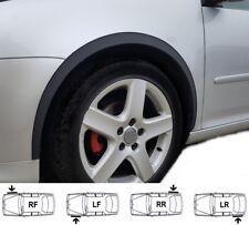 VW GOLF VI Wing Wheel Arch Quater Panel Moulding Trim MATT BLACK set 4 pcs 08-12