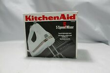 KitchenAid KHM5DH 5-Speed Ultra Power Hand Mixer with extra fittings