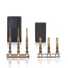JR Graupner Uni Plug Socket Servostecker Servobuchse Gold contact 1 Pair part