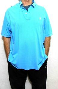 """Ralph Lauren Polo T shirt, sz. XL """"COOL COMFORT"""" -Vivid blue"""
