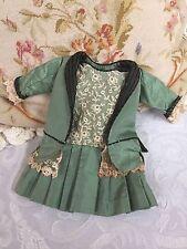 Vintage Antique Lace Dress for German or French Bru Jne or Jumeau Doll