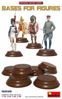 Miniart 16039 - 1:16 scale - Bases for figures 6 pc plastik model kit