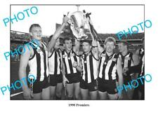 DARREN MILLANE COLLINGWOOD FC 1990 PREMIERS A3 PHOTO