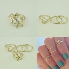 Alloy Band Costume Rings without Stone