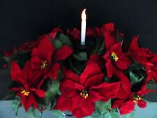Solar Light Candle Christmas Cemetery Flower Headstone/Tombstone Saddle
