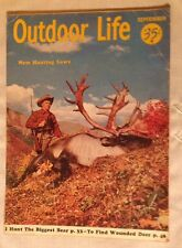 1966 Outdoor Life September Elk Hunting Hunting Laws Winchester Ad