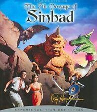 7th Voyage of Sinbad 50th Anniversary 0043396278837 Blu-ray Region a