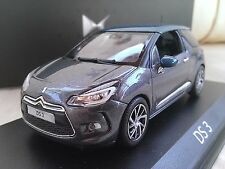 2014 Citroen DS3 - Grey / Blue - Diecast Model Car 1/43 Norev