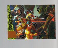 2018 Fleer Ultra X-Men GB4 Greatest Battles SILVER FOIL card