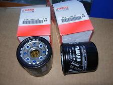 Yamaha yzf r1 r6 fzs1000 xvz Vmax YFM filtro aceite 2x 5gh-13440 oil-filtro 2pc