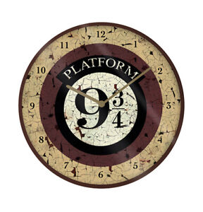 Boxed Licensed Clock Gift - Harry Potter Platform 9 3/4 - 85543