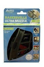 Baskerville Ultra Dog Muzzle Size 3, Black, Muzzle For Beagle Bearded Collie