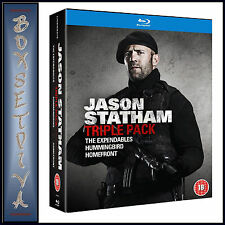 JASON STATHAM - 3 MOVIE BOXSET-  **BRAND NEW BLU-RAY**