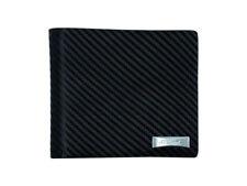 ST Dupont Defi Black Carbon Fiber Leather 8cc Billfold Wallet ST170002