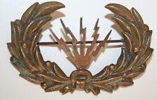 1899 Electrician Sergeant's cap Badge