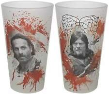 Set of 2 The Walking Dead Pint Glass 473ml - Multi