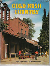 Book The Gold Rush Country of California mining past