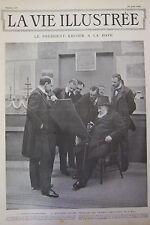 Zeitung die Leben Illustrierte Nr. 201 von 1902 Krüger Sträfling Danval Kopfputz
