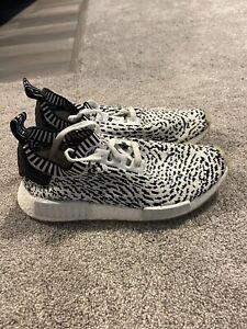 Adidas NMD R1 Sashiko White zebra size 9