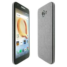 Skinomi Brushed Aluminum Skin+Clear Screen Protector for Alcatel A30 P