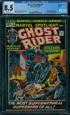Marvel Spotlight 5 CGC 8.5  1st Ghost Rider