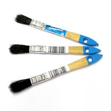 PACK OF 50, 12mm DISPOSABLE PAINT BRUSHES 1/2""