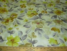 "~11 4/8 YDS~REGAL""MODERN RETRO FLOWERS"" DRAPERY UPHOLSTERY FABRIC FOR LESS~"