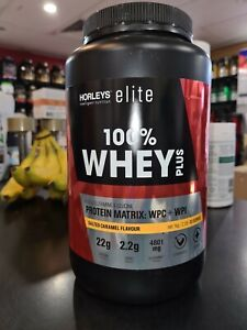 HORLEYS elite 100% WHEY PLUS 1kg Protein Powder Low Carb Muscle Recovery