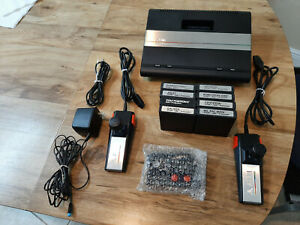 Atari 7800 ProSystem Console with 8 games