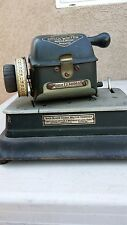 Antique/Vintage Safe-Guard Check Writer Model G (Rare)...Collectors Item