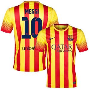 news barcelona away 2013 customize 10 messi  size S M L XL