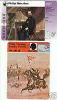 PHILIP SHERIDAN Union General U.S. Civil War STORY OF AMERICA 2 CARDS