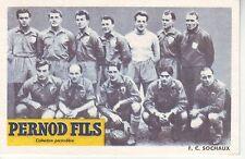 FOOTBALL CARTE DU FC SOCHAUX 1949 (carte bon de commande pernod)