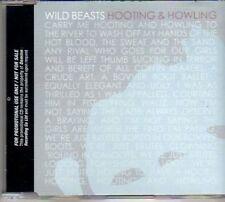 (AM720) Wild Beasts, Hooting & Howling - DJ CD