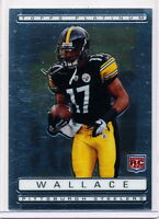 2009 TOPPS PLATINUM #135 MIKE WALLACE RC - STEELERS