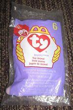 1998 Ty Teenie Beanie McDonalds Happy Meal Toy Happy #6 - Hippo