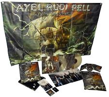 Axel Rudi Pell Into the Storm Box Set CD/2LP/flag/patch/poster/sticker/pin pick